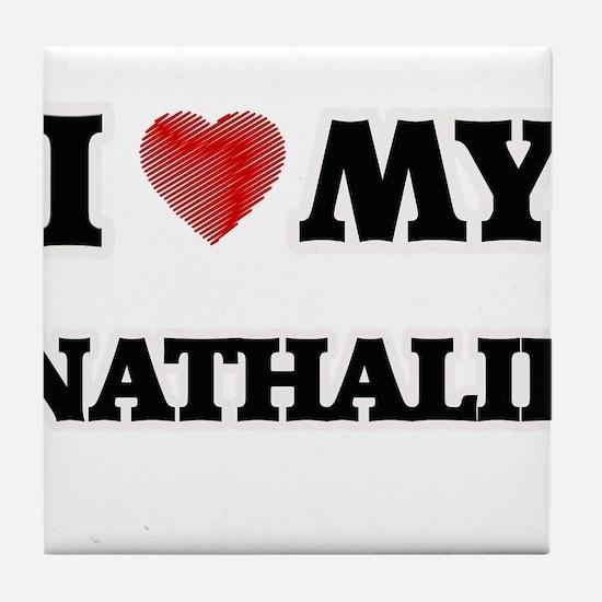 I love my Nathalie Tile Coaster