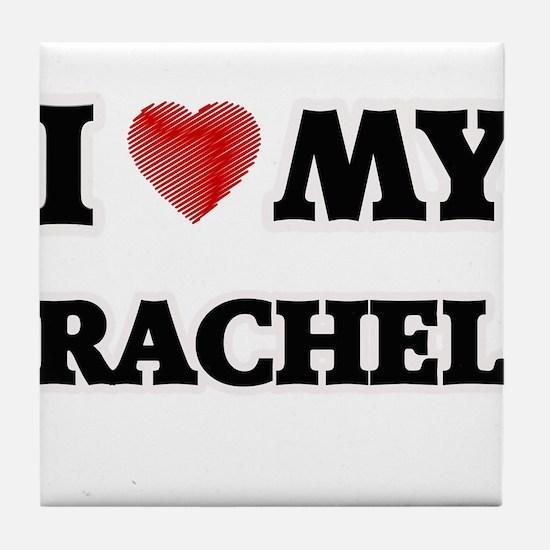I love my Rachel Tile Coaster