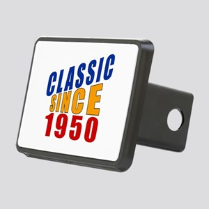 Classic Since 1950 Rectangular Hitch Cover