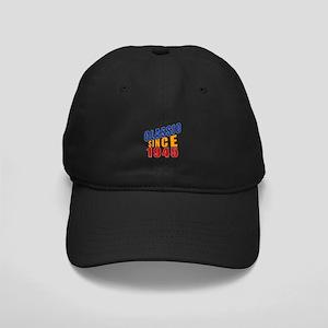 Classic Since 1945 Black Cap