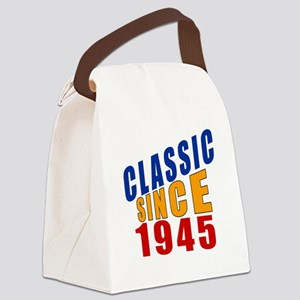 Classic Since 1945 Canvas Lunch Bag