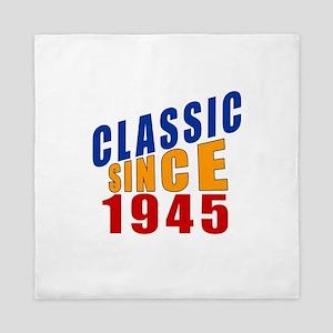 Classic Since 1945 Queen Duvet