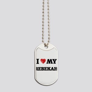 I love my Rebekah Dog Tags