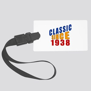 Classic Since 1938 Large Luggage Tag