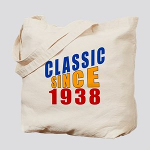 Classic Since 1938 Tote Bag