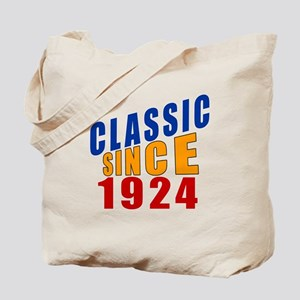 Classic Since 1924 Tote Bag