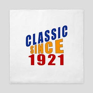Classic Since 1921 Queen Duvet