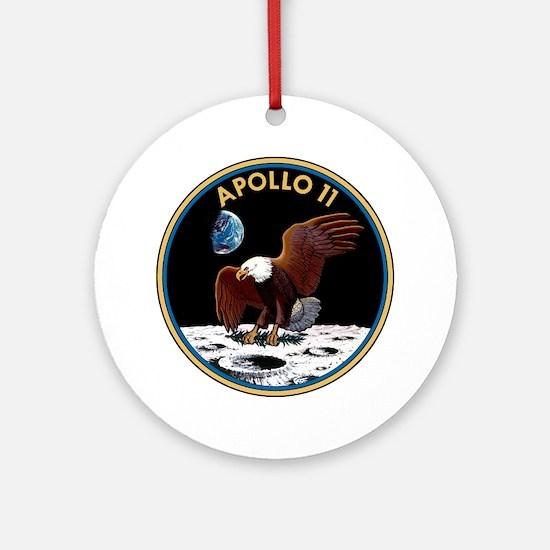 Apollo 11 Insignia Round Ornament