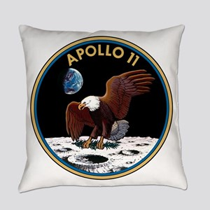 Apollo 11 Insignia Everyday Pillow