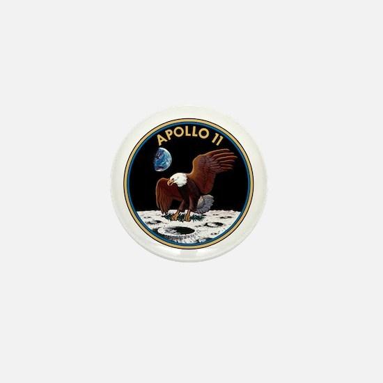 Apollo 11 Insignia Mini Button