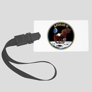 NASA Apollo 11 Insignia Luggage Tag