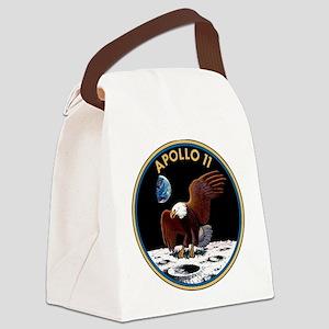 NASA Apollo 11 Insignia Canvas Lunch Bag