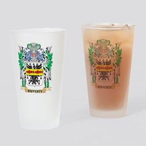 Rafferty Coat of Arms - Family Cres Drinking Glass