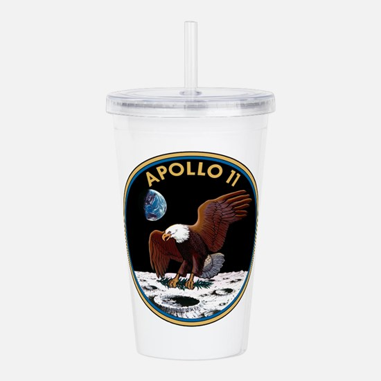 NASA Apollo 11 Insignia Acrylic Double-wall Tumble