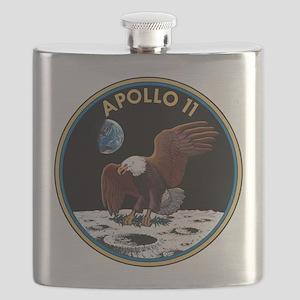 NASA Apollo 11 Insignia Flask