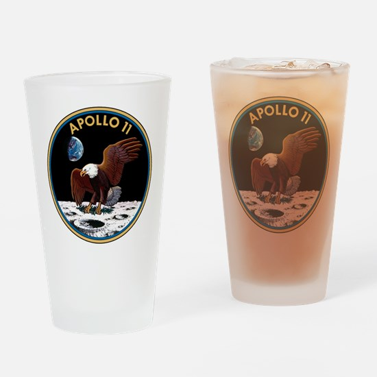 NASA Apollo 11 Insignia Drinking Glass