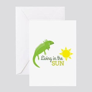 In The Sun Greeting Cards