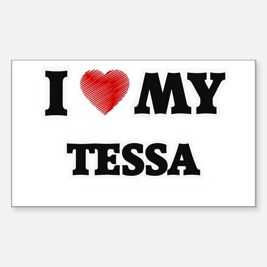 I love my Tessa Decal