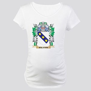 Ralston Coat of Arms - Family Cr Maternity T-Shirt