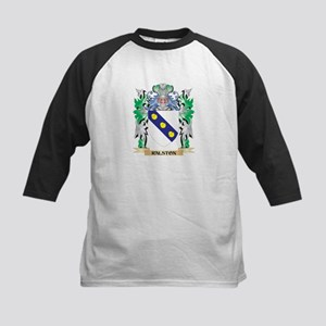 Ralston Coat of Arms - Family Cres Baseball Jersey