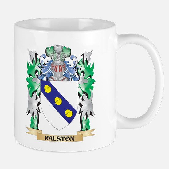 Ralston Coat of Arms - Family Crest Mugs