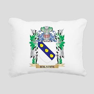 Ralston Coat of Arms - F Rectangular Canvas Pillow