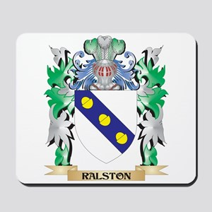 Ralston Coat of Arms - Family Crest Mousepad