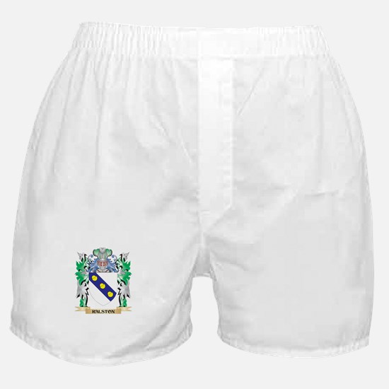 Ralston Coat of Arms - Family Crest Boxer Shorts