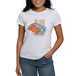 Cartoon Fish Grouper Women's T-Shirt