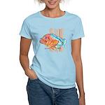 Cartoon Fish Grouper Women's Light T-Shirt