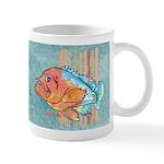 Cartoon Fish Grouper Mug