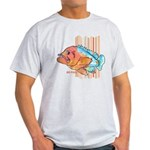Cartoon Fish Grouper Light T-Shirt