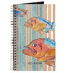 Cartoon Fish Grouper Journal
