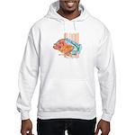 Cartoon Fish Grouper Hooded Sweatshirt