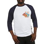 Cartoon Fish Grouper Baseball Jersey