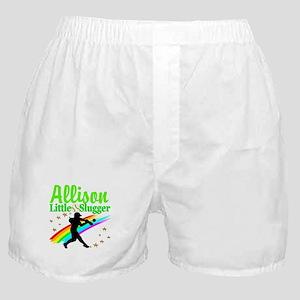 PERSONALIZE SOFTBALL Boxer Shorts