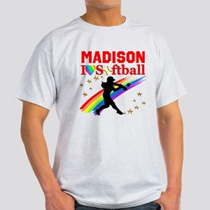 PERSONALIZE SOFTBALL Light T-Shirt