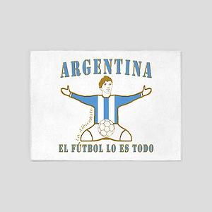 Argentina footballer celebration so 5'x7'Area Rug