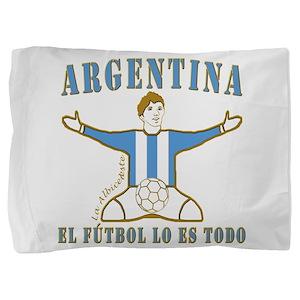 Argentina footballer celebration socce Pillow Sham