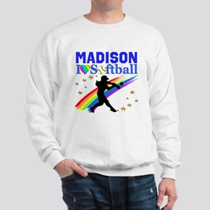 PERSONALIZE SOFTBALL Sweatshirt