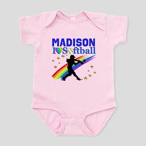 PERSONALIZE SOFTBALL Infant Bodysuit