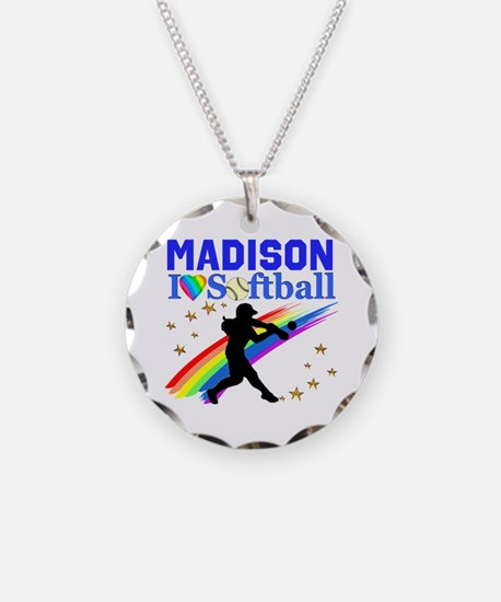 PERSONALIZE SOFTBALL Necklace