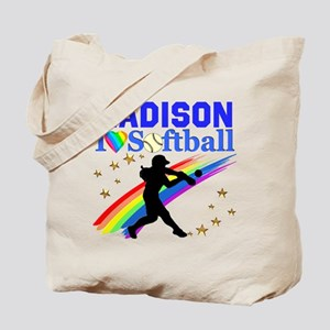 PERSONALIZE SOFTBALL Tote Bag
