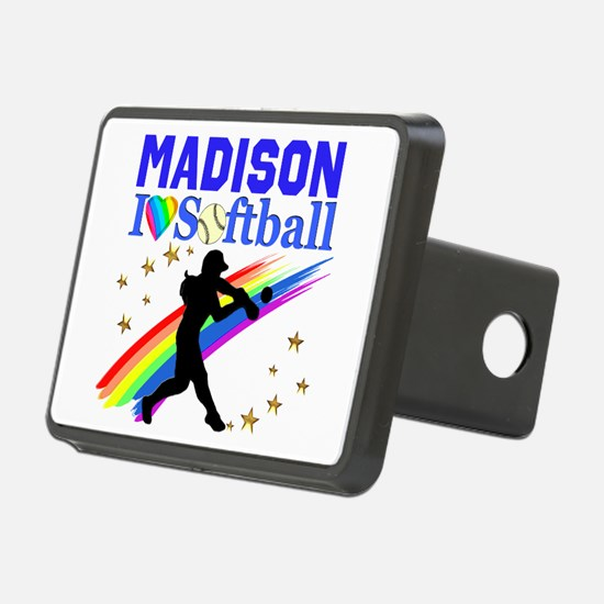PERSONALIZE SOFTBALL Hitch Cover