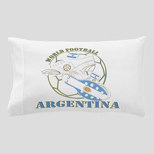 Argentina world soccer football Pillow Case