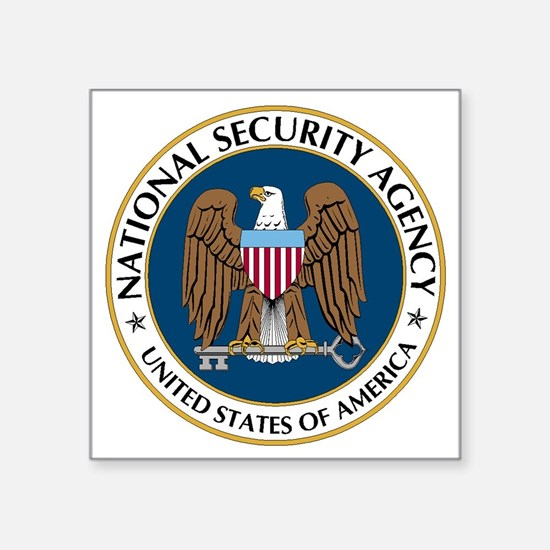 NSA - NATIONAL SECURITY AGE Sticker