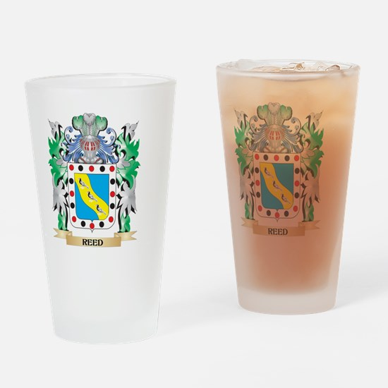 Reed Coat of Arms - Family Crest Drinking Glass