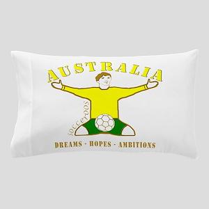 Australia footballer celebration socce Pillow Case