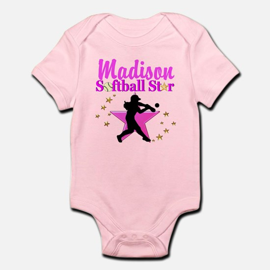 PERSONALIZE SOFTBALL Infant Bodysuit