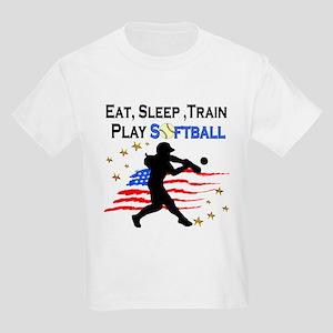 SOFTBALL STAR Kids Light T-Shirt